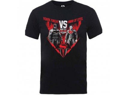 Pánske tričko BATMAN VS SUPERMAN BATTLE FOR (Veľkosť XXL)