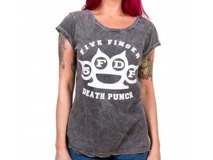 Dámske tričko Five Finger Death Punch (Veľkosť XL)