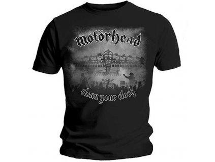 Pánske tričko Motörhead Clean Your Clock B&W (Veľkosť XXL)