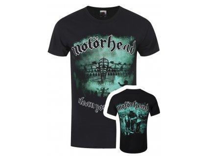 Pánske tričko Motörhead Clean Your Clock Green