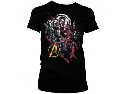 Dámske tričko Avengers Heroes