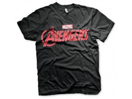 Pánske tričko Avengers Distressed Logo