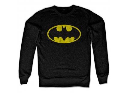 Pánska mikina Batman Distressed Logo