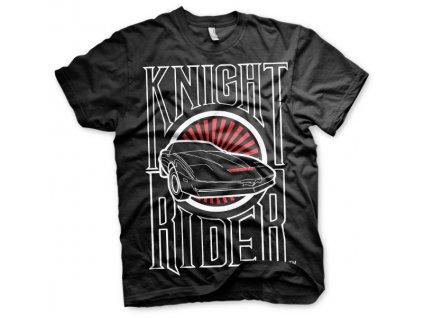 Pánske tričko Knight Rider Sunset K.I.T.T.
