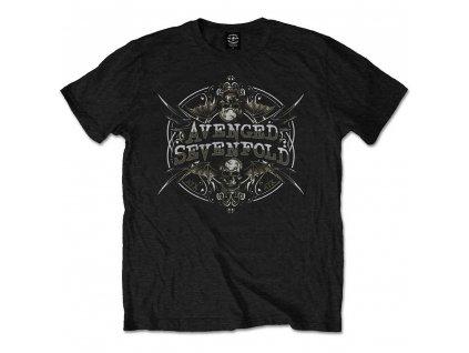 Pánske tričko Avenged Sevenfold REFLECTIONS (Veľkosť XXL)