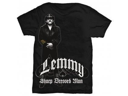 Pánske tričko Lemmy Kilmister POINTING (Veľkosť XXL)