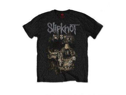 Pánske tričko Slipknot Skull Group (Veľkosť XXL)