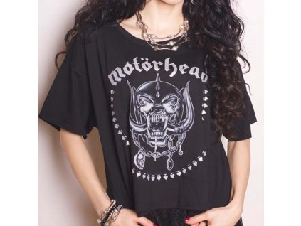 Dámske Tričko Motörhead (Veľkosť XL)