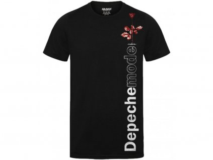 Pánske tričko DEPECHE MODE VIOLATOR SIDE ROSE