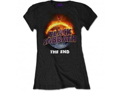 Dámske tričko Black Sabbath Koniec (Veľkosť XXL)