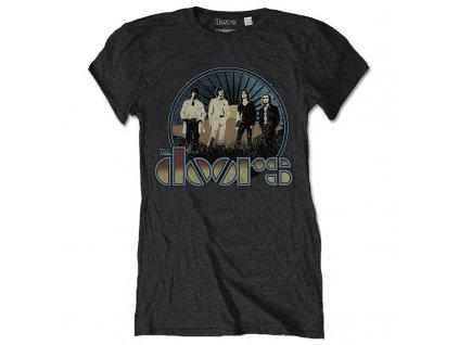 Dámske tričko THE DOORS (Veľkosť XL)