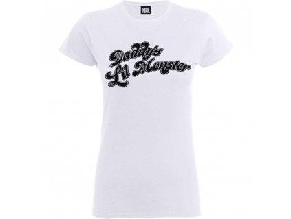 Dámske tričko SUICIDE SQUAD DADDY'S LILL (Veľkosť XXL)