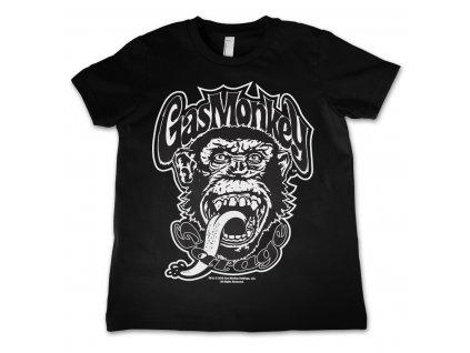 Detské tričko Gas Monkey Garage Logo