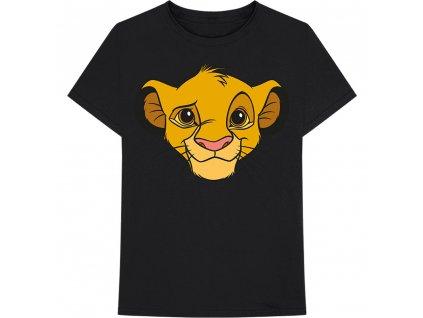 Pánske Tričko LION KING - SIMBA FACE