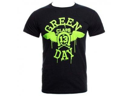 Pánske tričko Green Day Neon Black (Veľkosť XXL)
