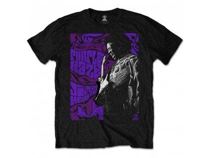 Pánske tričko Jimi Hendrix PURPLE HAZE (Veľkosť XXL)