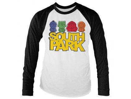 Pánske tričko s dlhým rukávom SOUTH PARK SKETCHED