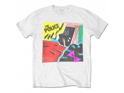 Pánske tričko The Police DON'T STAND (Veľkosť XXL)