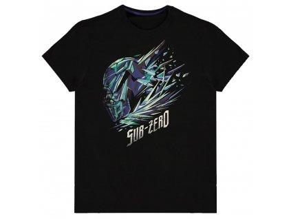 Pánske tričko WARNER - MORTAL KOMBAT - SUB-ZERO ICE