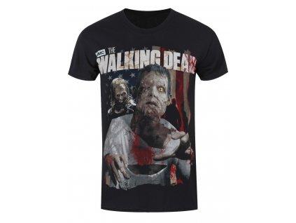 Pánske tričko The Walking Dead ZOMBIE (Veľkosť XXL)