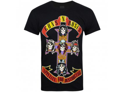 Pánske tričko Guns N' Roses Appetite for Destruction (Veľkosť XXL)