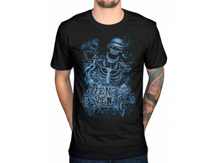 avenged sevenfold Chained Skeleton tshirt blk zpsdv7k0rvs