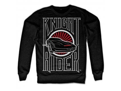 Pánska mikina Knight Rider Sunset K.I.T.T.