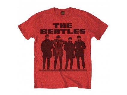 Pánske tričko The Beatles LONG TALL (Veľkosť XXL)