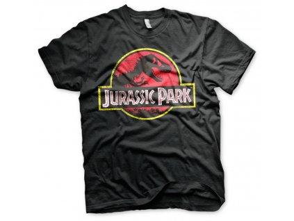 Pánske tričko Jurassic Park Distressed Logo