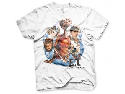 Pánske tričko E.T. Retro Poster