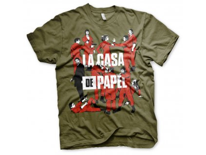 Pánske tričko La Casa De Papel - La Pandilla