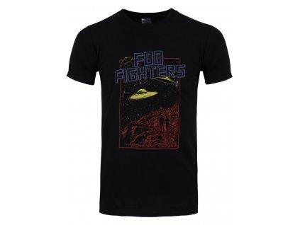 Pánske tričko Foo Fighters UFO/DATES (Veľkosť XXL)
