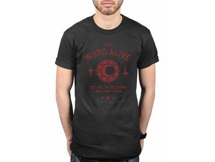 Pánske tričko THE WORD ALIVE CURSE (Veľkosť XXL)