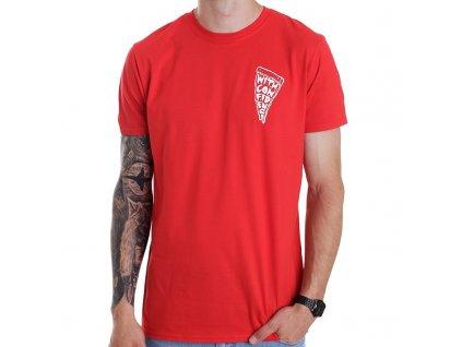 Pánske tričko WITH CONFIDENCE PIZZA PUNX (Veľkosť XXL)