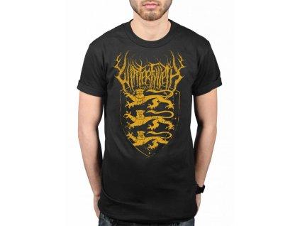 Pánske tričko WITH CONFIDENCE THREE LIONS (Veľkosť S)
