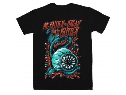 Pánske tričko WE BUTTER THE BREAD WITH BUTTER (Veľkosť XXL)