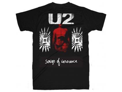 Pánske tričko U2 SONGS OF INNOCENCE RED SHADE (Veľkosť XXL)