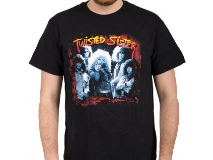 Pánske tričko TWISTED SISTER I WANNA ROCK (Veľkosť XL)