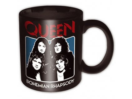 Hrnček QUEEN BO RHAP BLACK