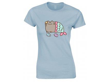 Dámske tričko PUSHEEN MERCAT (Veľkosť XL)