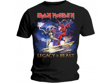 Pánske tričko Iron Maiden LEGACY BEAST FIGHT (Veľkosť XXL)