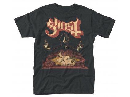 Pánske tričko Ghost INFESTISSUMAM (Veľkosť XXL)