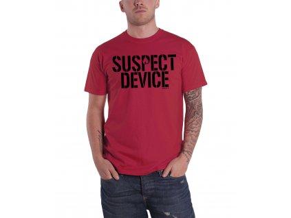 Pánske tričko STIFF LITTLE FINGERS SUSPECT DEVICE (Veľkosť XL)