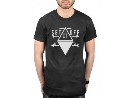 Pánske tričko SET IT OFF ARROW (Veľkosť XL)