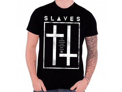 Pánske tričko SLAVES GOD STOPPED LISTENING (Veľkosť XL)