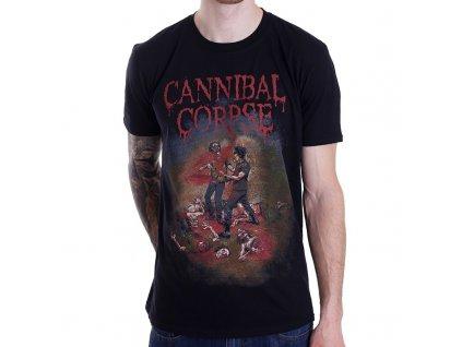 Tričko Cannibal Corpse CHAINSAW (Veľkosť XXL)