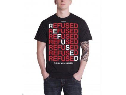 Pánske tričko REFUSED NEW NOISE THEOLOGY (Veľkosť XXL)