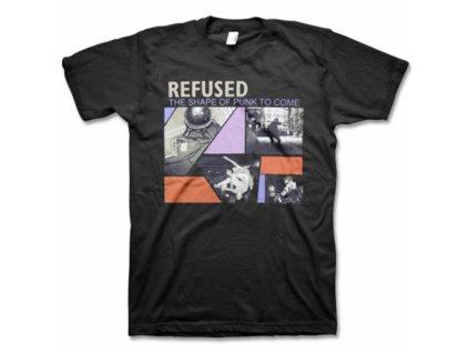 Pánske tričko REFUSED THE SHAPE OF PUNK TO COME (Veľkosť XXL)