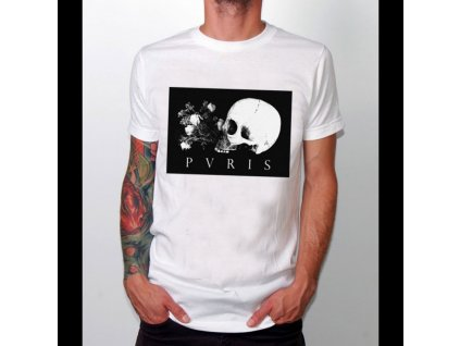 Pánske tričko PVRIS SKULL FLOWERS (Veľkosť XL)