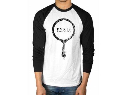 Pánske tričko s dlhým rúkavom PVRIS WHITE NOISE (Veľkosť XXL)